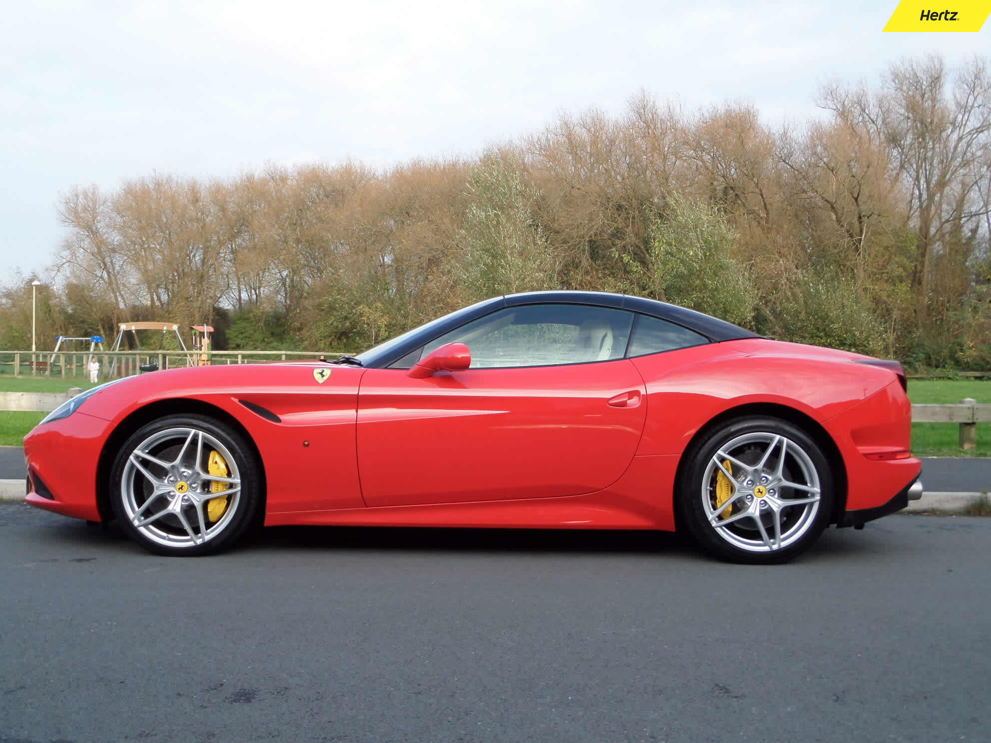 Hire a Ferrari California for just £695